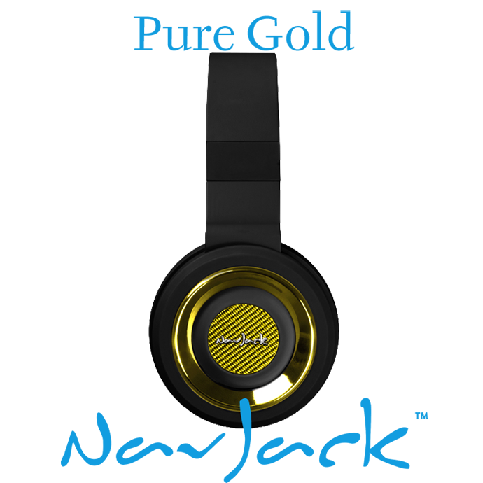 Nav Jack Headset QBM Pure Gold